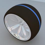 Futuristisches Radkonzept MAX 2011 3d model