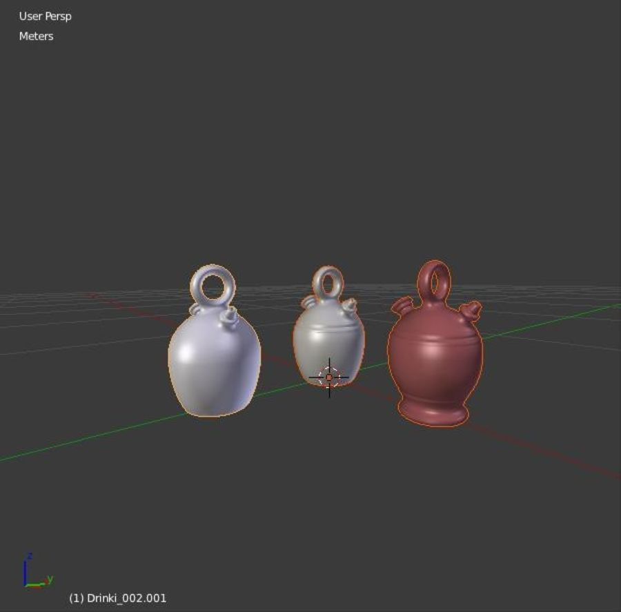 주전자를 마시는 royalty-free 3d model - Preview no. 19