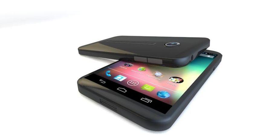 Koncepcja Smart Phone royalty-free 3d model - Preview no. 1