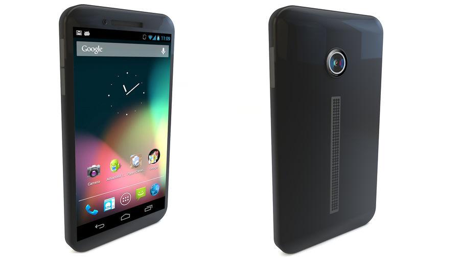 Koncepcja Smart Phone royalty-free 3d model - Preview no. 3