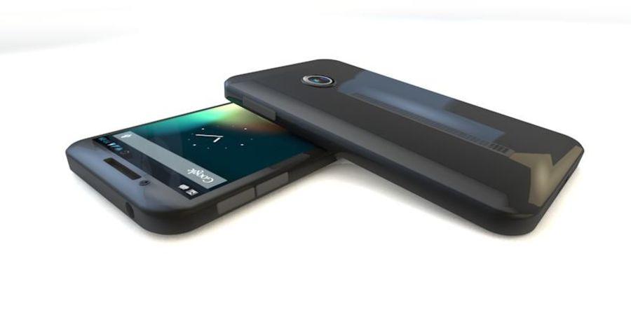 Koncepcja Smart Phone royalty-free 3d model - Preview no. 2