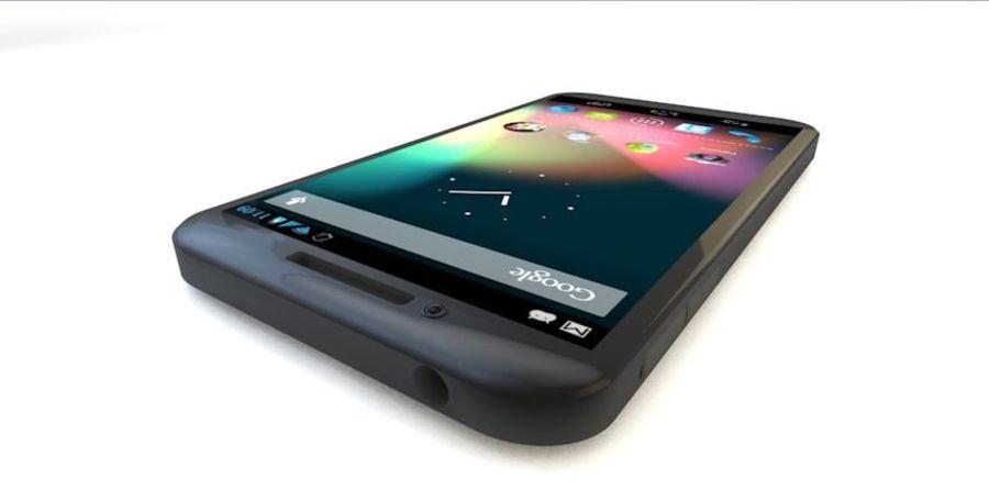 Koncepcja Smart Phone royalty-free 3d model - Preview no. 7