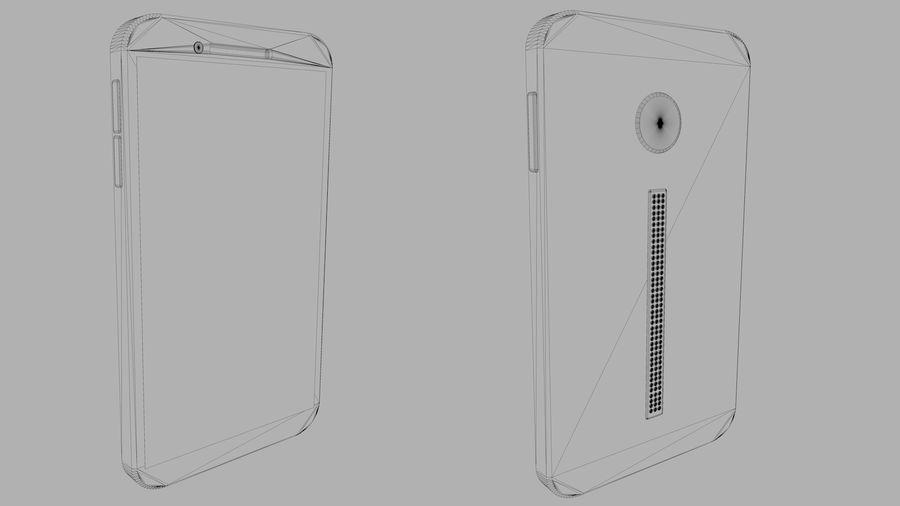 Koncepcja Smart Phone royalty-free 3d model - Preview no. 4