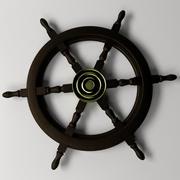 Корабль рулевого колеса 2 3d model