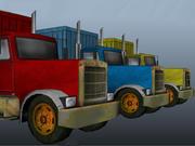Zware vrachtwagen 3d model