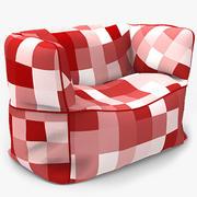 Chaise de sac 3d model