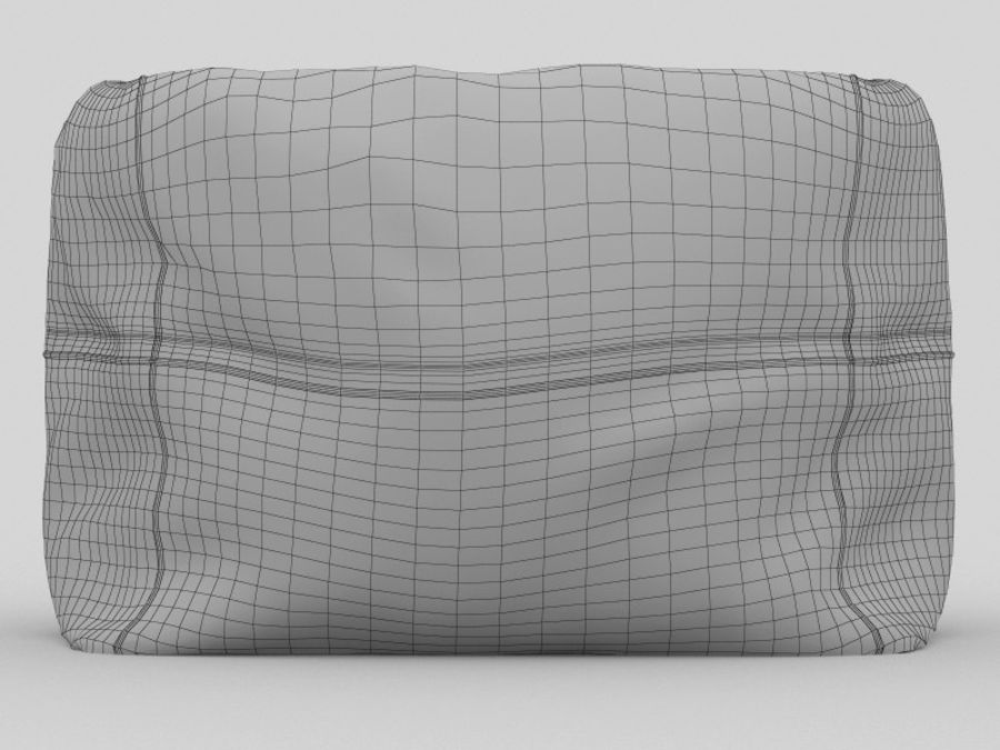 Bag Chair royalty-free 3d model - Preview no. 2