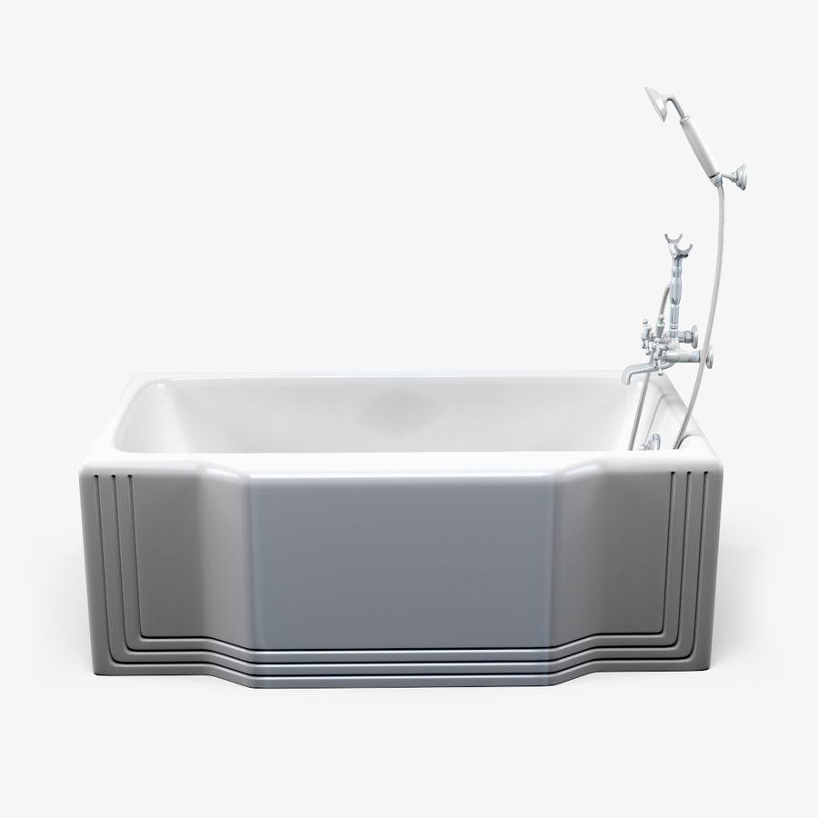 목욕통 royalty-free 3d model - Preview no. 1