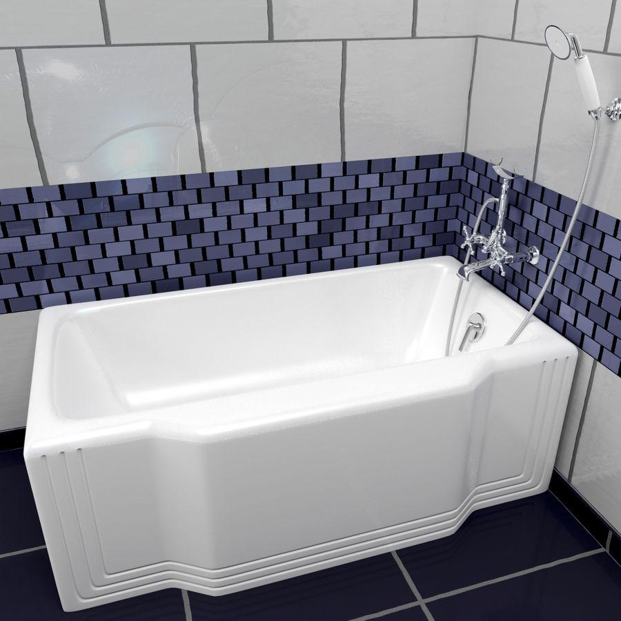 목욕통 royalty-free 3d model - Preview no. 6