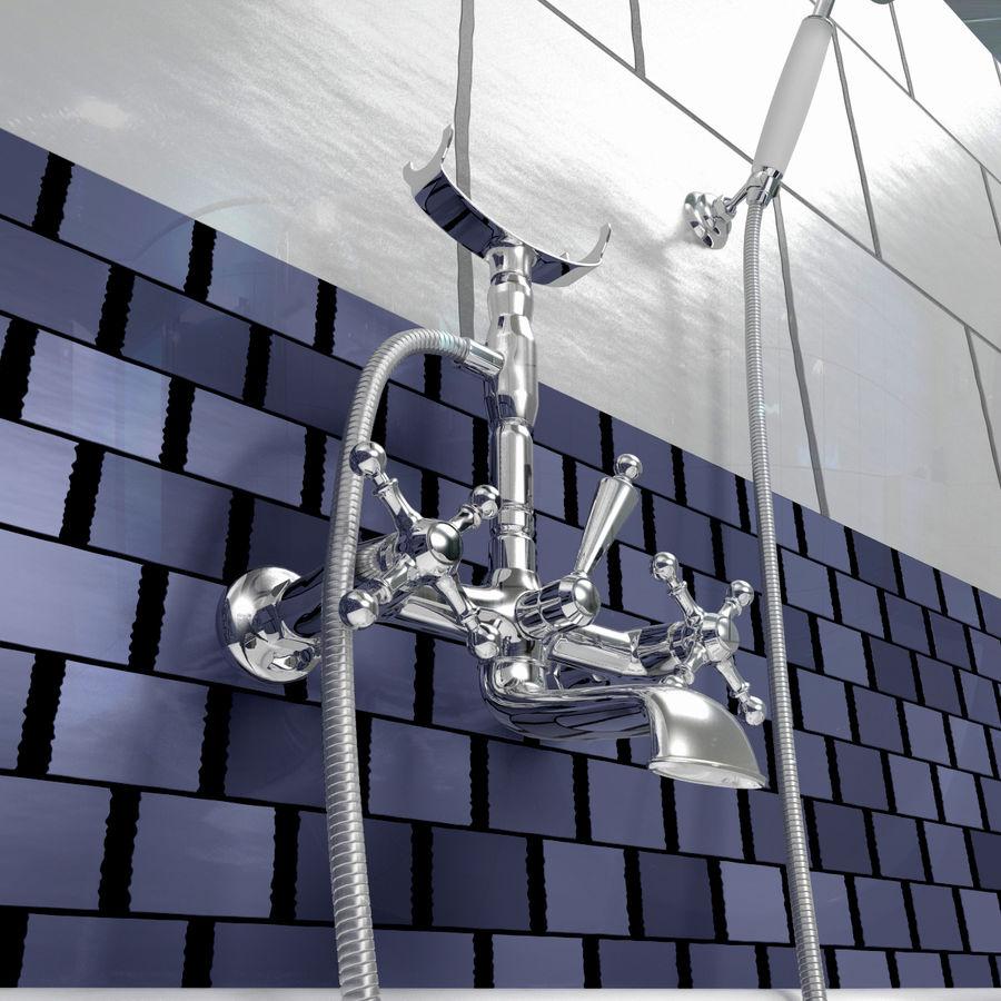 목욕통 royalty-free 3d model - Preview no. 12