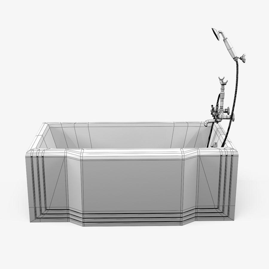 목욕통 royalty-free 3d model - Preview no. 2