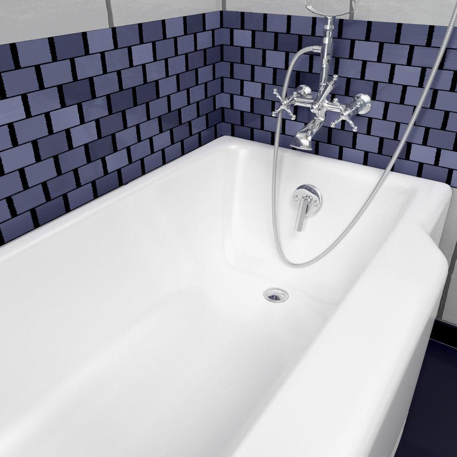 목욕통 royalty-free 3d model - Preview no. 8