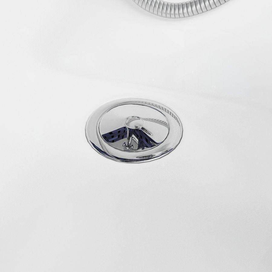 목욕통 royalty-free 3d model - Preview no. 9