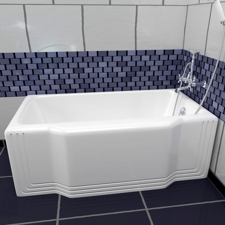 목욕통 royalty-free 3d model - Preview no. 18