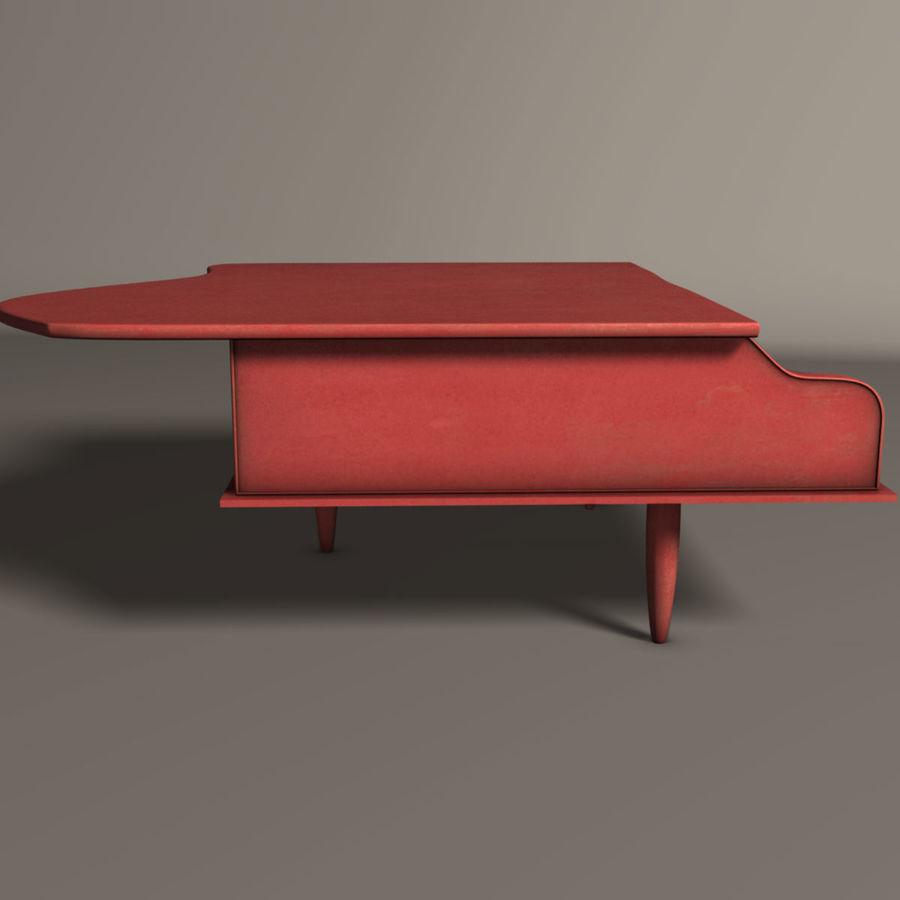 おもちゃのピアノ royalty-free 3d model - Preview no. 3