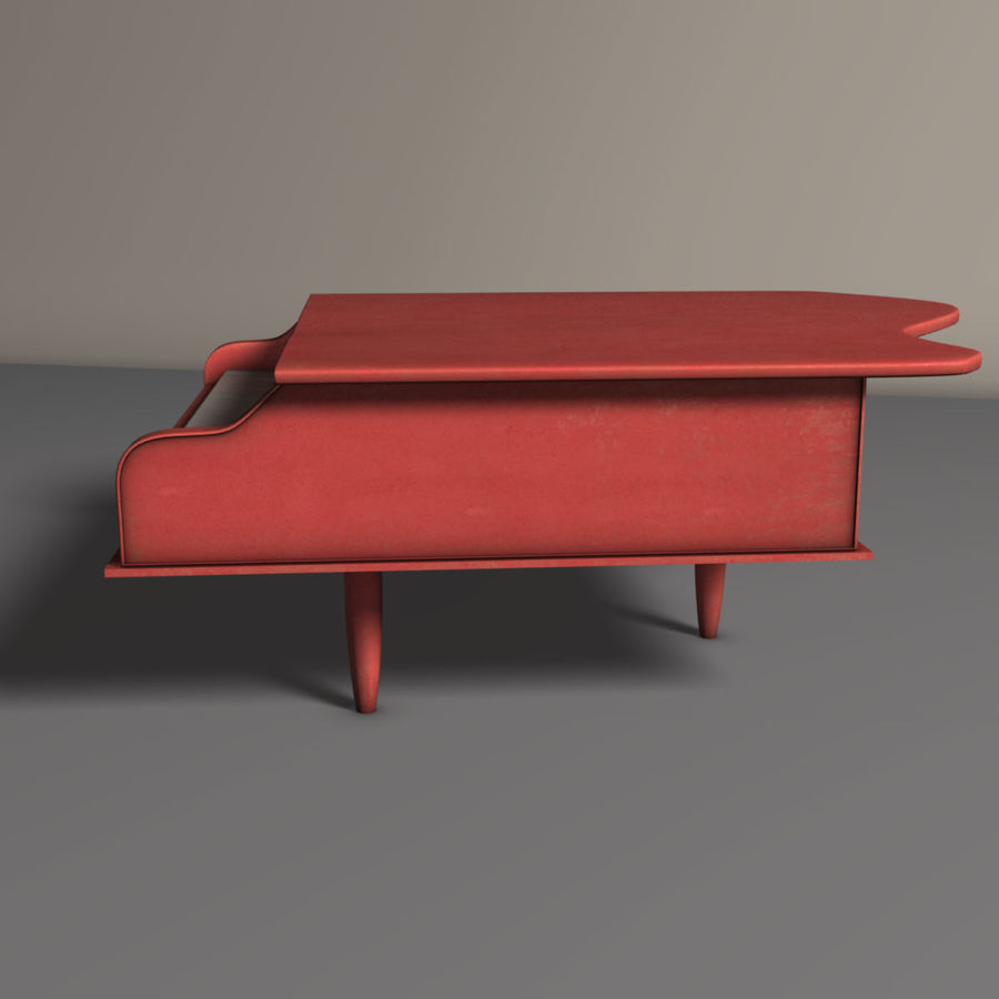 Piano jouet royalty-free 3d model - Preview no. 5