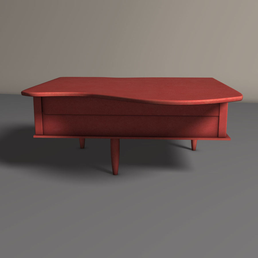 Piano jouet royalty-free 3d model - Preview no. 4