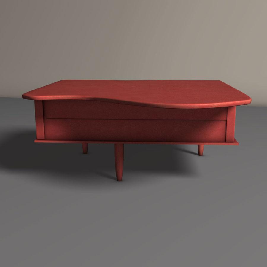 おもちゃのピアノ royalty-free 3d model - Preview no. 4