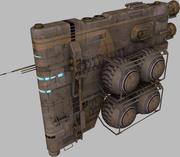 Tardigrade fuel hauler 3d model