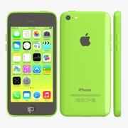 Яблочный айфон 5с зеленый 3d model