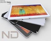 Samsung Galaxy Note 10.1 - 2014 3d model