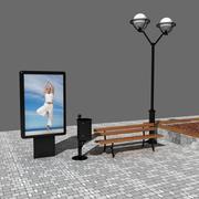Scena della città 3d model