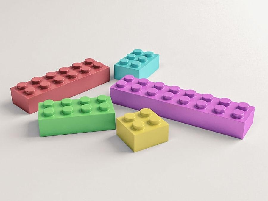レゴ royalty-free 3d model - Preview no. 1