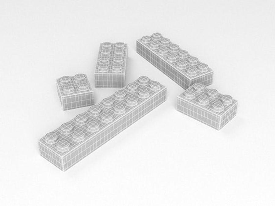 レゴ royalty-free 3d model - Preview no. 5
