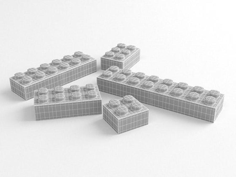 レゴ royalty-free 3d model - Preview no. 4