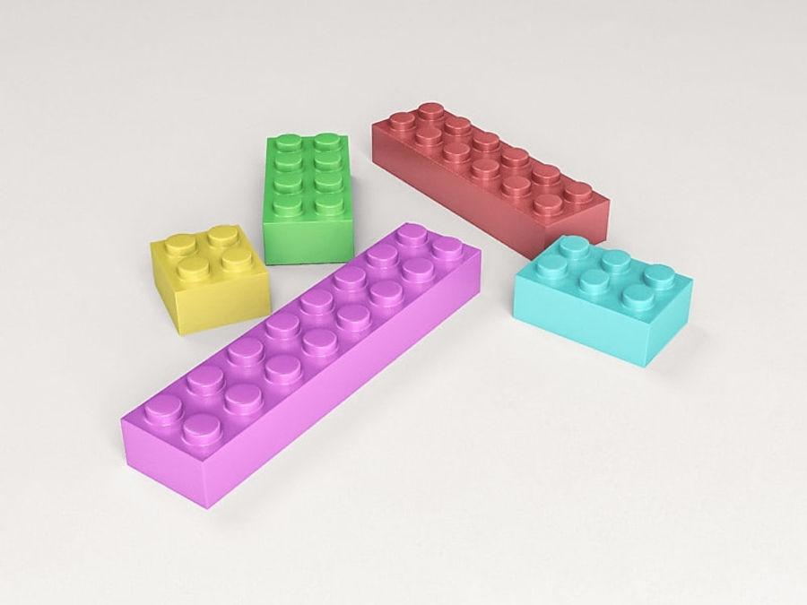 レゴ royalty-free 3d model - Preview no. 2