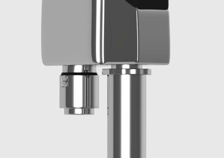 헤드폰 빈티지 마이크 royalty-free 3d model - Preview no. 7