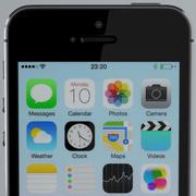 苹果iPhone 5s太空灰 3d model