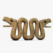 Antik taş yılan 3d model