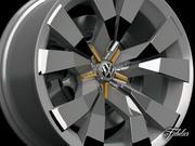 フォルクスワーゲンクロスブルーリム 3d model