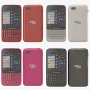 Blackberry Q5 all color 3d model
