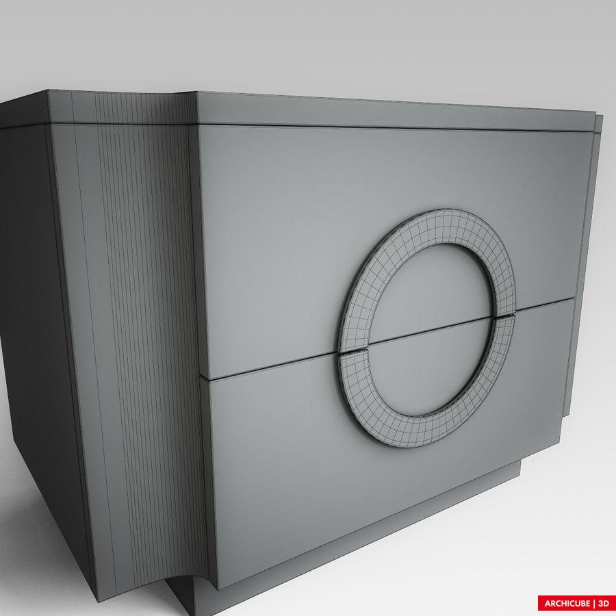 Mesilla de noche royalty-free modelo 3d - Preview no. 10