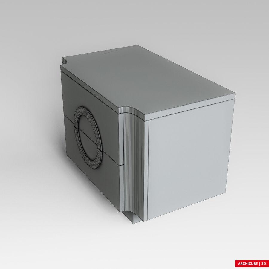 Mesilla de noche royalty-free modelo 3d - Preview no. 7
