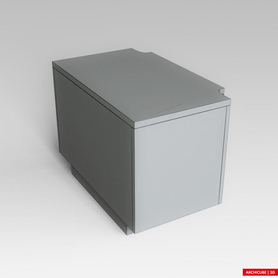 Mesilla de noche royalty-free modelo 3d - Preview no. 9