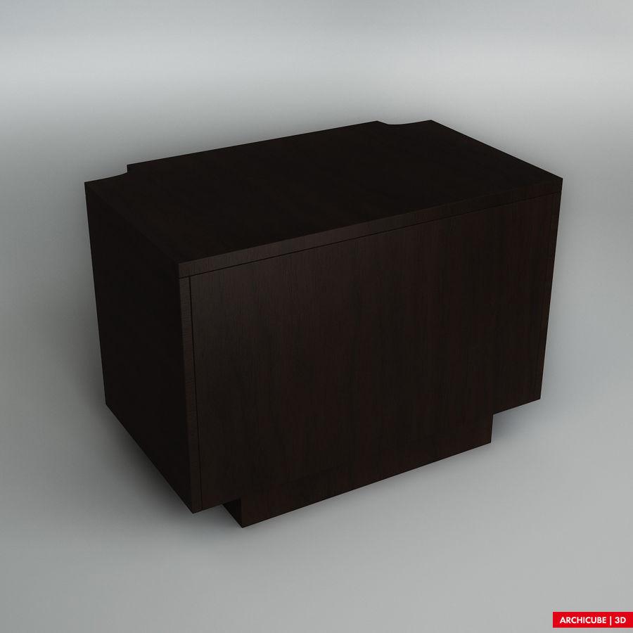 Mesilla de noche royalty-free modelo 3d - Preview no. 3