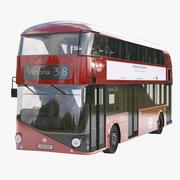 New Bus for London 3d model