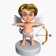 Cupido de dibujos animados modelo 3d