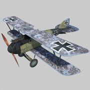Albatros D3 3d model