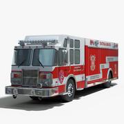 Tactical Rescue Truck 3d model