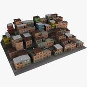 Rio Favelas 3d model