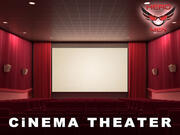 Cinema Teatro 3d model