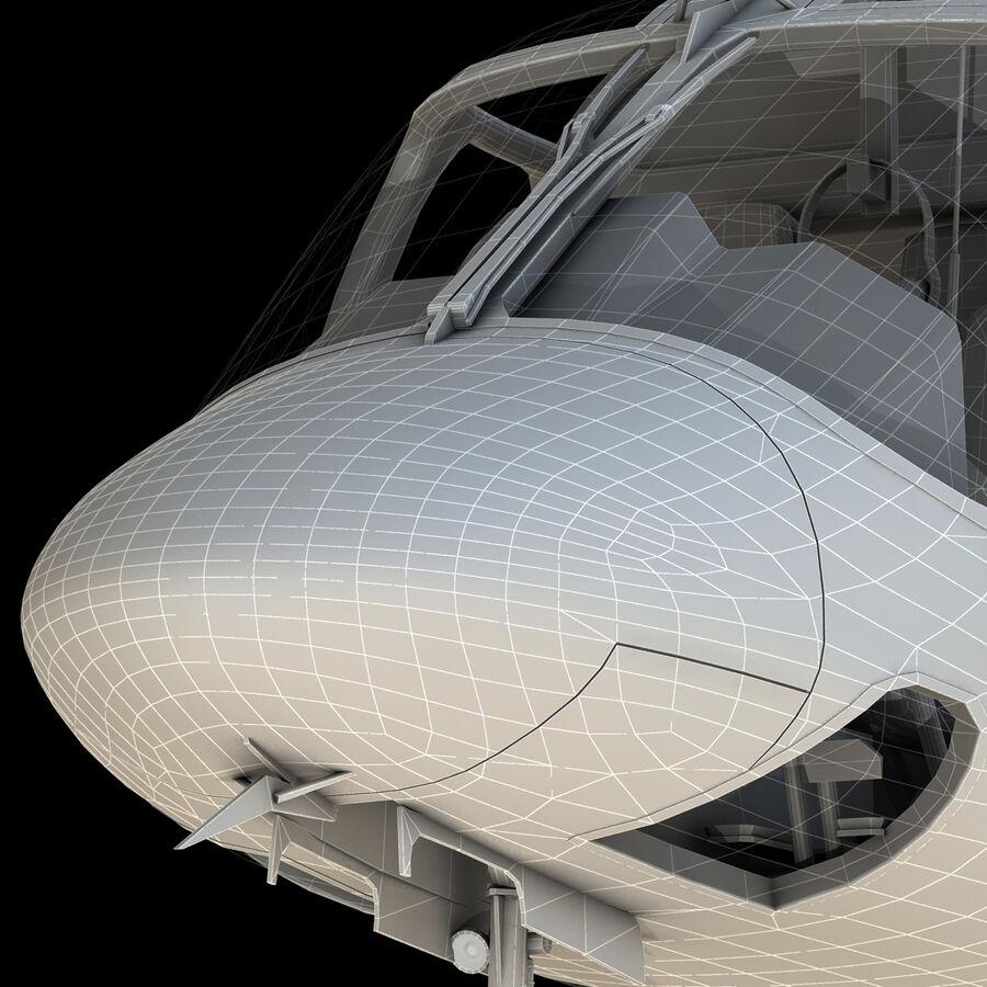 Agusta AW 109 Sahil Güvenlik royalty-free 3d model - Preview no. 14
