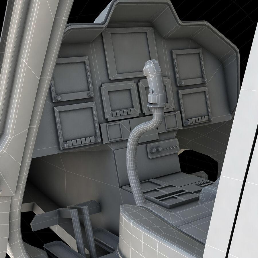 Agusta AW 109 Sahil Güvenlik royalty-free 3d model - Preview no. 19