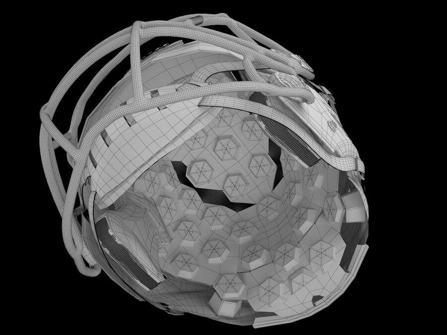 Kask piłkarski Riddell 360 royalty-free 3d model - Preview no. 9