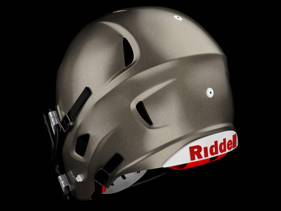 Kask piłkarski Riddell 360 royalty-free 3d model - Preview no. 2