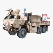 ВОЕННЫЙ АВТОМОБИЛЬ M1078 КОНТРОЛЬНАЯ ТОЧКА 3d model